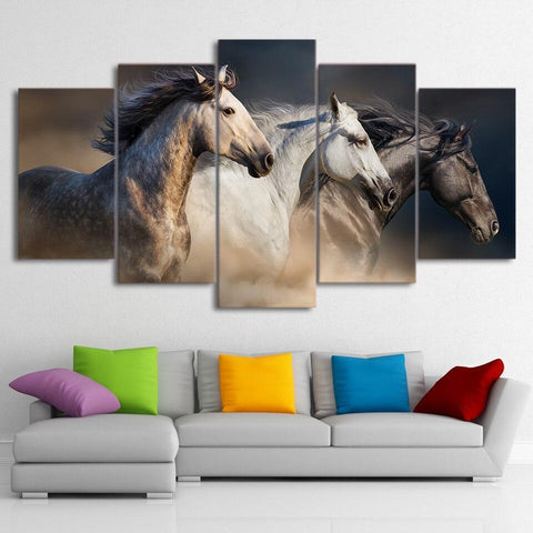 Tableau Toile Cheval