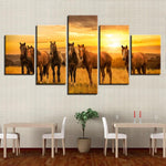 Tableau Contemporain Cheval
