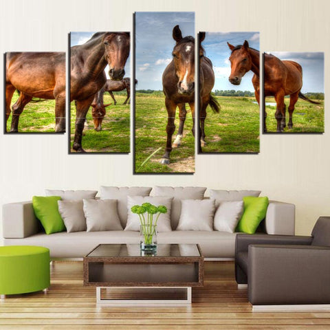 Tableau Photo Cheval