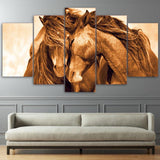 Tableau Cheval Tendresse