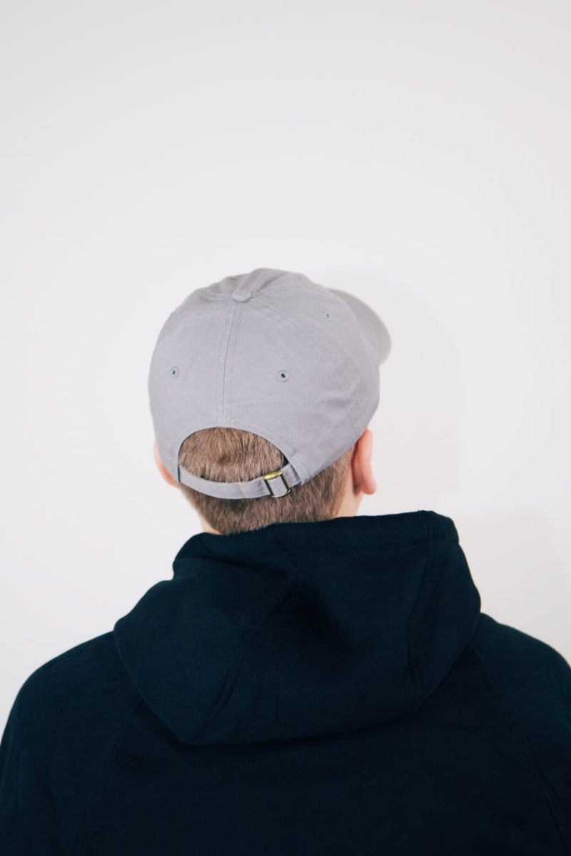 Grey Dad Hat