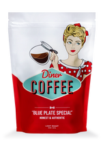 "Load image into Gallery viewer, ""Blue Plate Special"" Coffee, Light-Medium Roast 32oz."