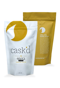 Cask'd Pure Agave Tequila-Infused Coffee, 12oz
