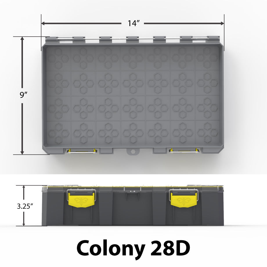 Starter Kit - Colony 28D (Deep) Modular Tackle Box