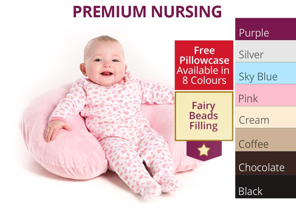 Premium nursing pillow