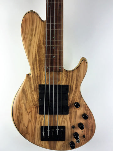 Wood & Tronics Chronos 5st. Fretless