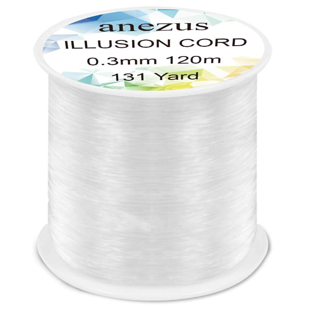 Anezus Fishing Line Nylon String Cord Clear Fluorocarbon Strong Monofilament Fishing Wire - Nihon Fishing