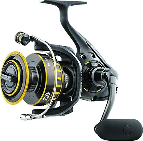 "Daiwa BG6500 BG Saltwater Spinning Reel, 6500, 5.3: 1 Gear Ratio, 6+1 Bearings, 48.7"" Retrieve Rate, 33 lb Max Drag - Nihon Fishing"