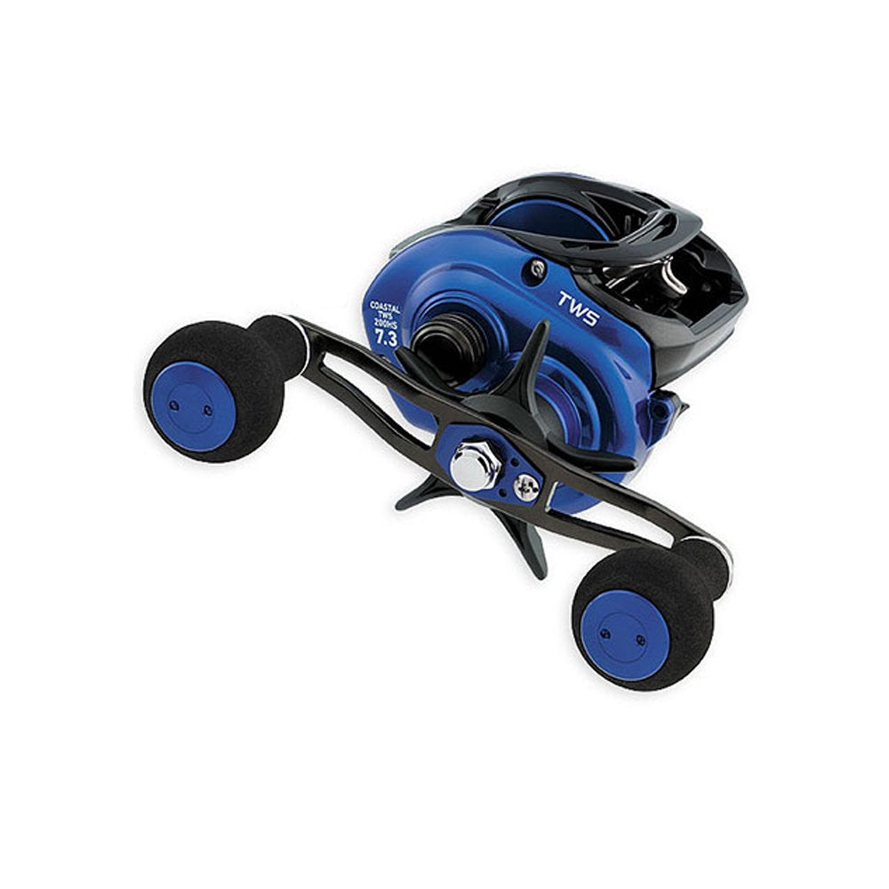 Daiwa CLTW200HS Coastal TWS Reel, 7.3: 1 Gear Ratio, 7CRBB, 1RB, 15.40 lb Max Drag, Right Hand - Nihon Fishing
