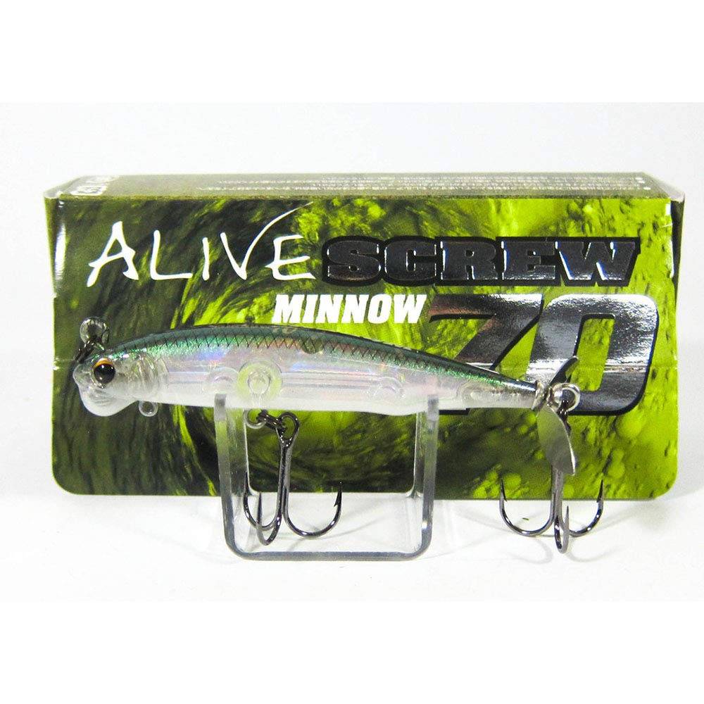 Imakatsu Alive Screw Minnow 70 Sinking Lure 70 (4425) - Nihon Fishing