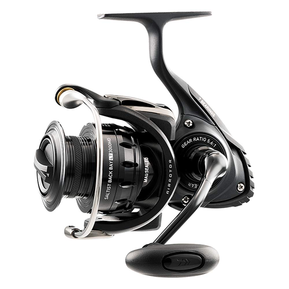 DAIWA Saltist Back Bay Spinning Reel, 5.6:1 Gear Ratio, Ambidextrous - Nihon Fishing