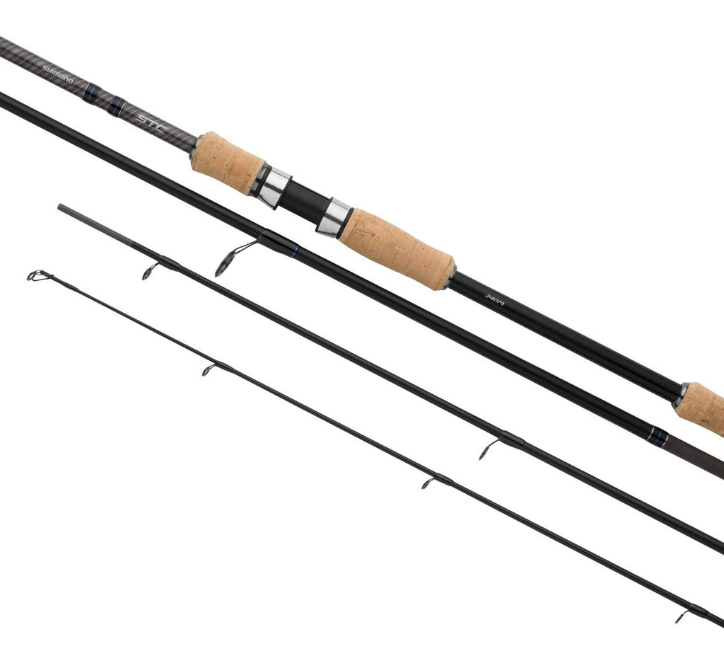 SHIMANO STC Spin 24 H, 7.90 feet, 0.70-2.11 Ounce, 4 Parts, Travel Spinning Fishing Rod, STCSPIN24H - Nihon Fishing