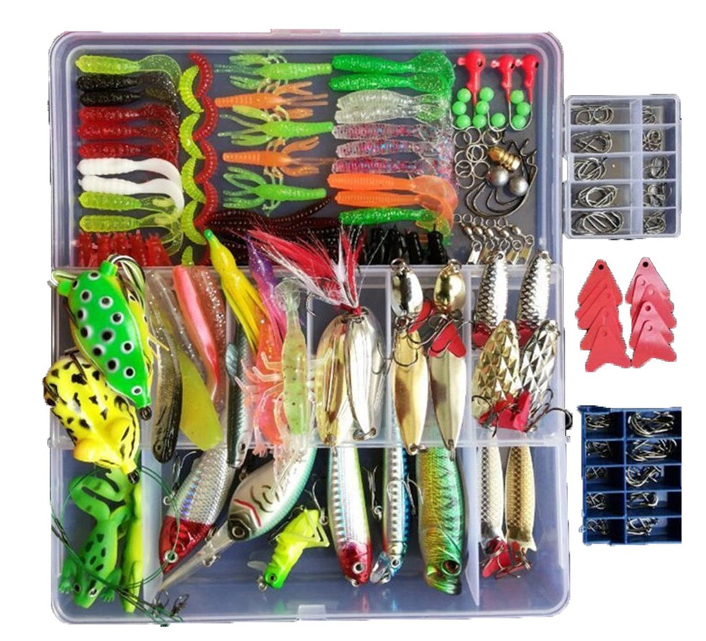 Smartonly 275pcs Fishing Lure Set - Nihon Fishing