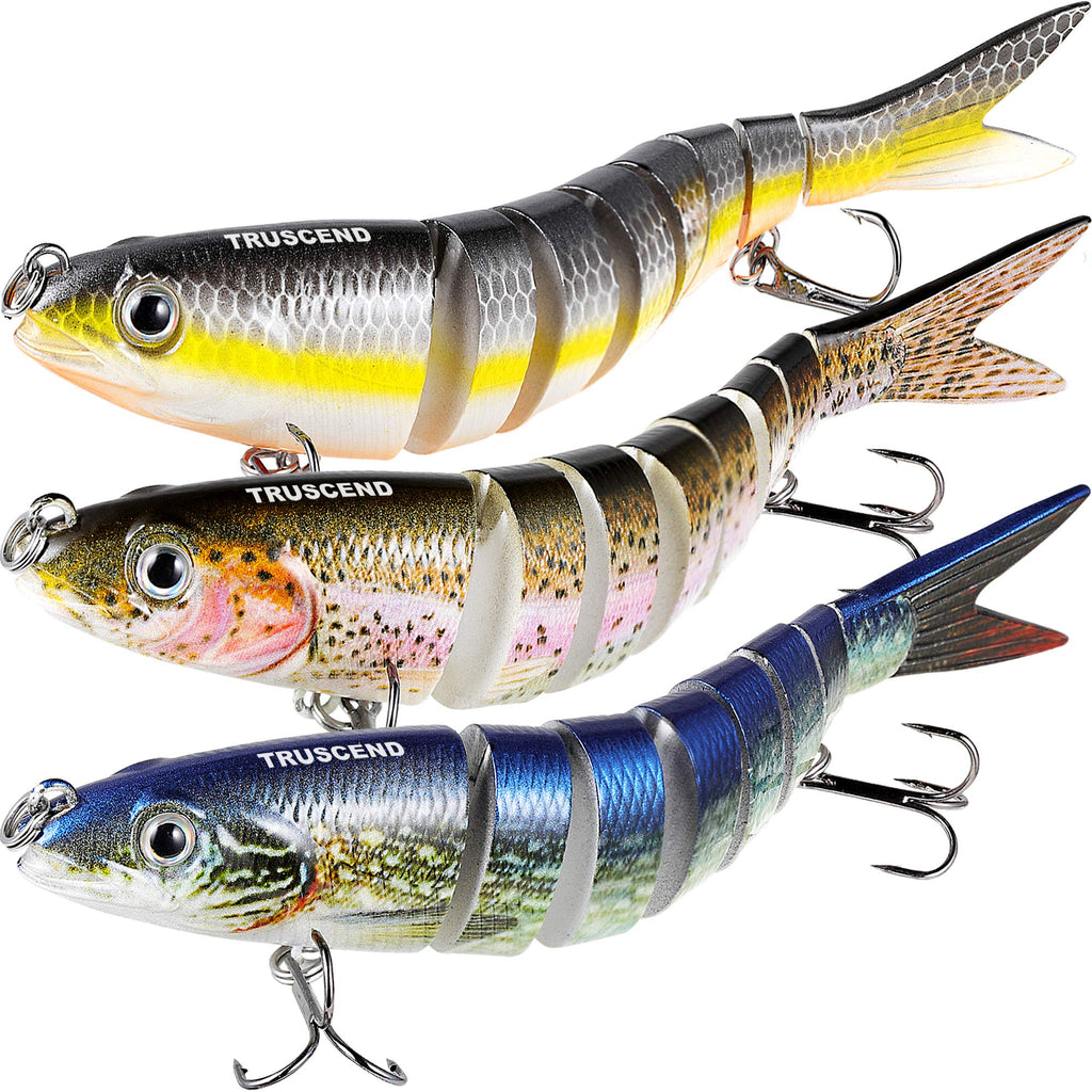 TRUSCEND Multi Jointed Swimbaits - Nihon Fishing