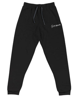 DV Fleece Embroidered Joggers - DV Apparel