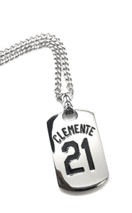 Roberto Clemente Necklace and Mask Set