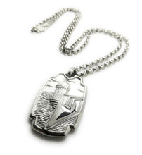 Load image into Gallery viewer, Old San Juan - El Morro Pendant and Chain Set