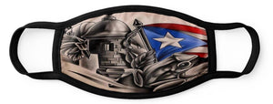 Face Mask - Puerto Rican Flag Designs