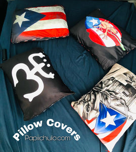 Pillow Covers - Puerto Rican Designs