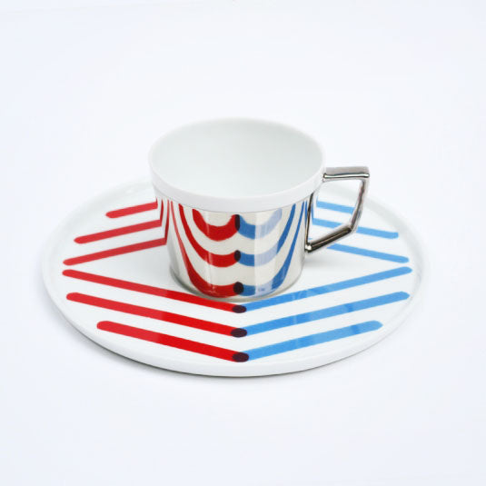 Mirror Pop Cup & Saucer | D-BROS (517PF)
