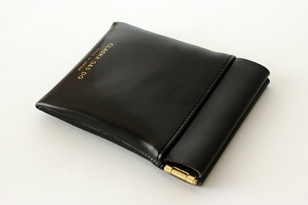 BANK flat snap pouch mini