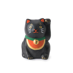 Lucky cat Mikuji black cat