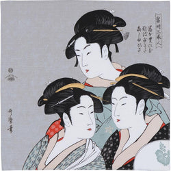 Ukiyo-e | Three Beauties Of The Present Day Gray