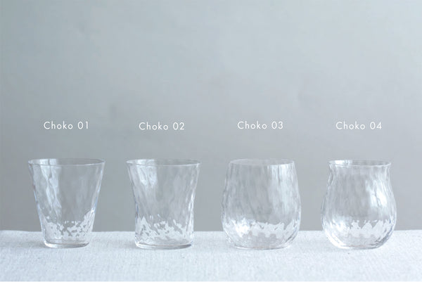 Sake Choko Glass| SHOTOKU Glass