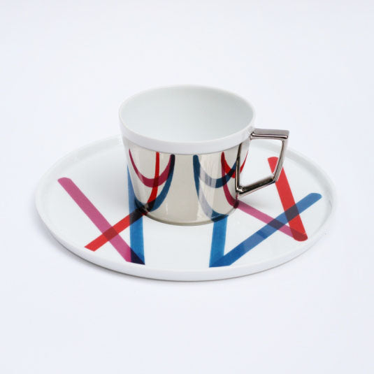 Mirror Pop Cup & Saucer | D-BROS (517PD)