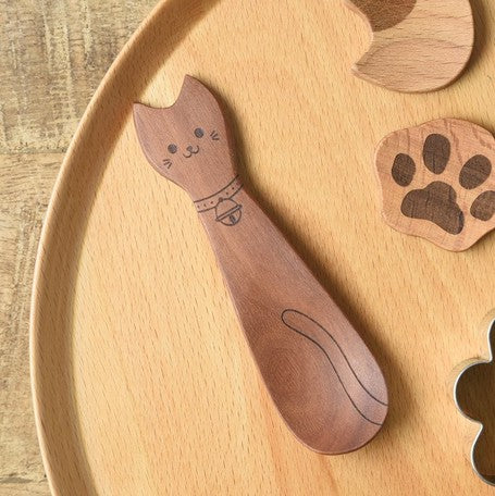 Animal wooden spoon | cat