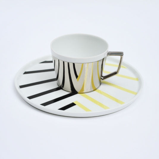 Mirror Pop Cup & Saucer | D-BROS (517ZC)