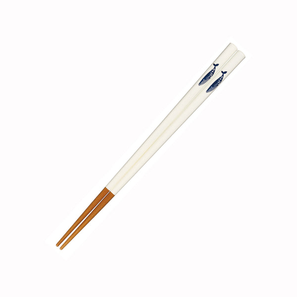 Dishwasher safe Chopstick | Whale White