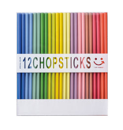 Happy Chopsticks set of 12