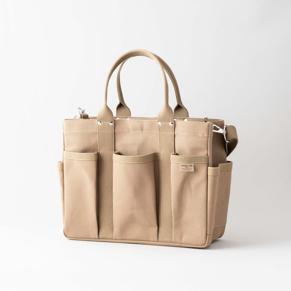 Heavy Canvas Tool Shoulder Tote  | Matsunoya