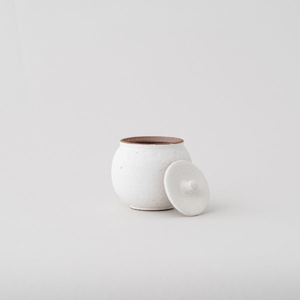 SHIGARAKI salt pot | White