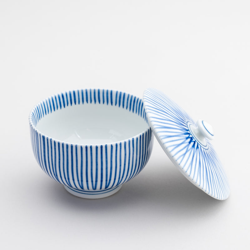HASAMI Tea Cup with Lid