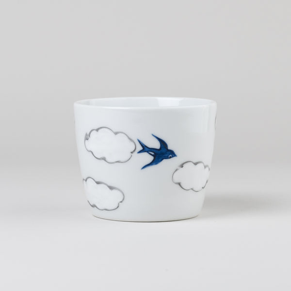 hand-painted cup | arita porcelain