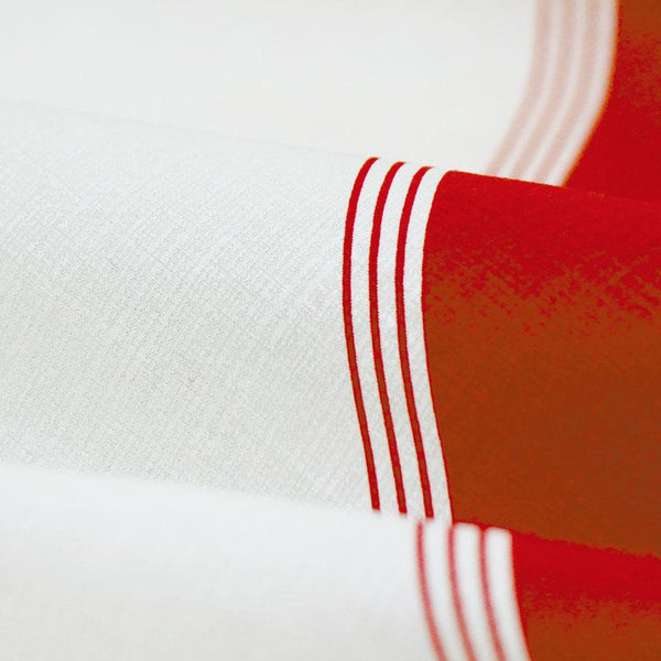 Furoshiki  | Diagonal Bicolor Red