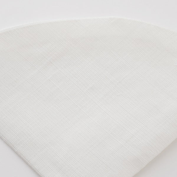Fabric coffee filter | 100% linen (pointy)