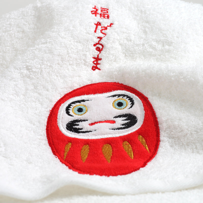 Face Towel/Daruma Doll