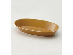 Oval Bowl 28cm Light-Brown | mizu mizu