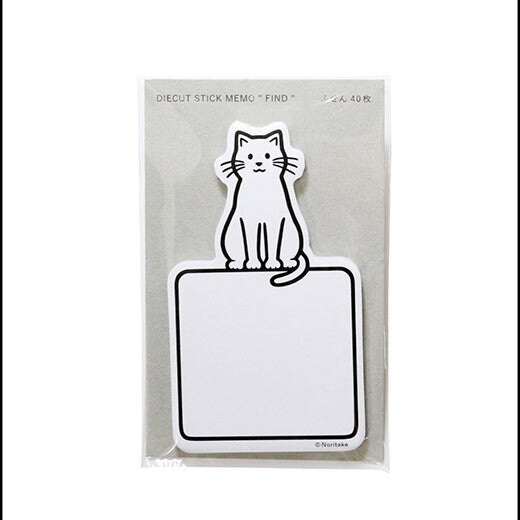 Noritake stick memo | cat