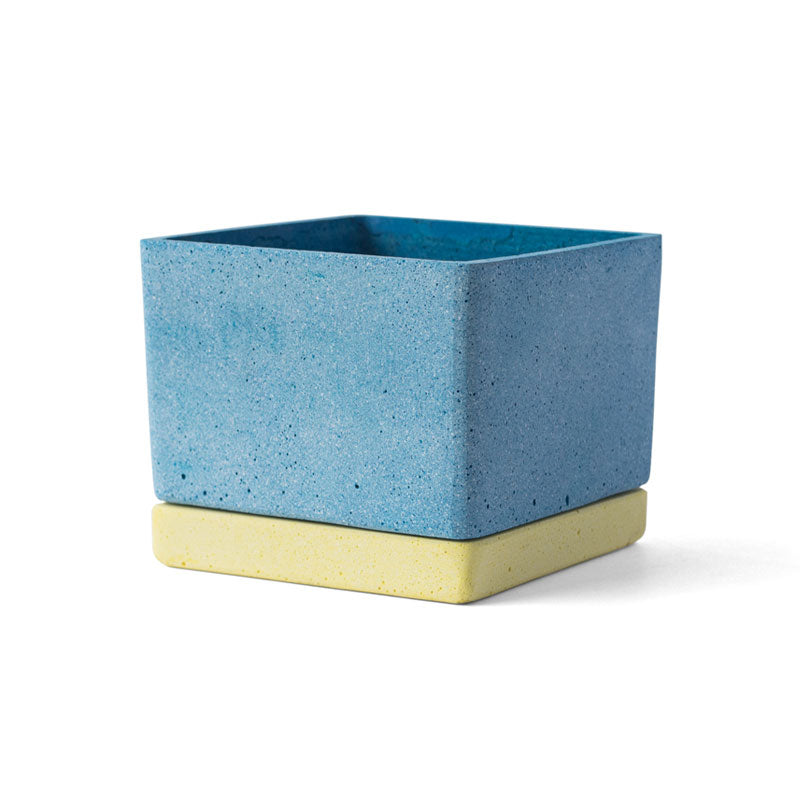 POLYSTONE POT | Blue | amabro