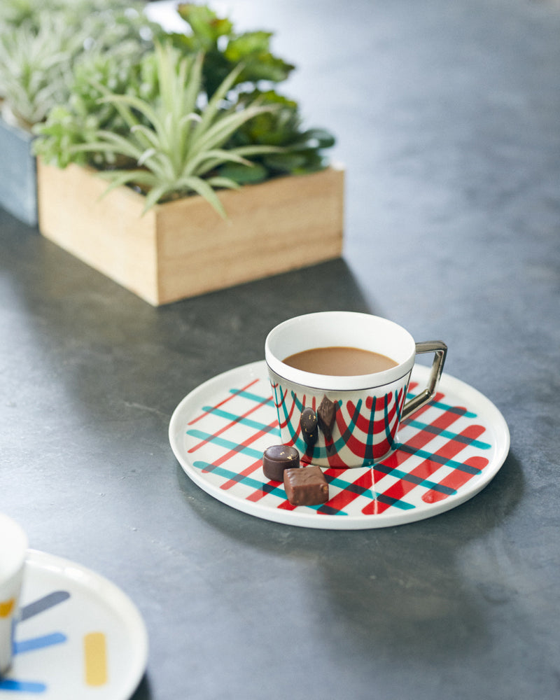 Mirror Pop Cup & Saucer | D-BROS (517PC)