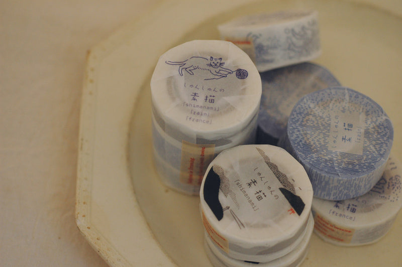 3 types set  | washi paper achesive tape