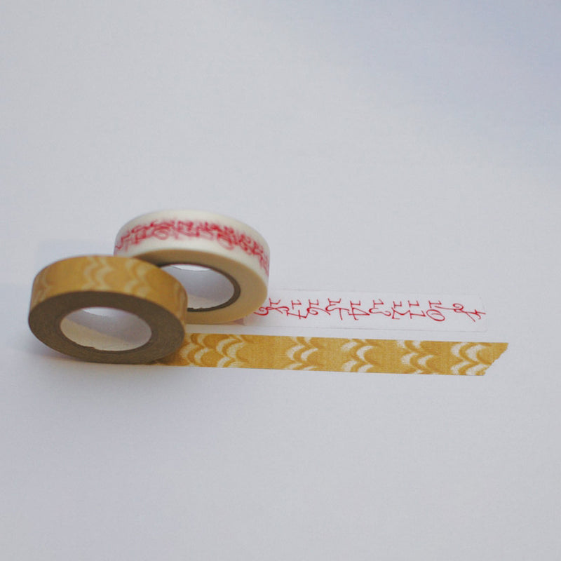 Washi Paper Achesive Tape | Welle