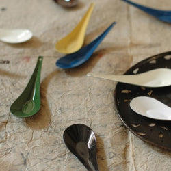 Enameled  spoon