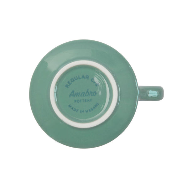 REGULAR CUP & SAUCER | Green | amabro