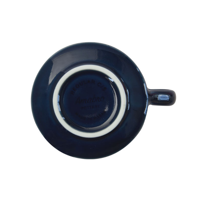 REGULAR CUP & SAUCER | Navy | amabro