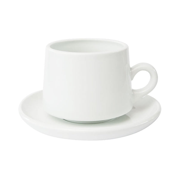 REGULAR CUP & SAUCER | White | amabro